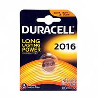 Батарейка Duracell 2016 блистер 3V