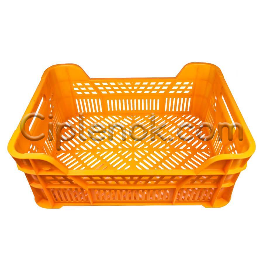 Ящик для фруктов и овощей (оранжевый)