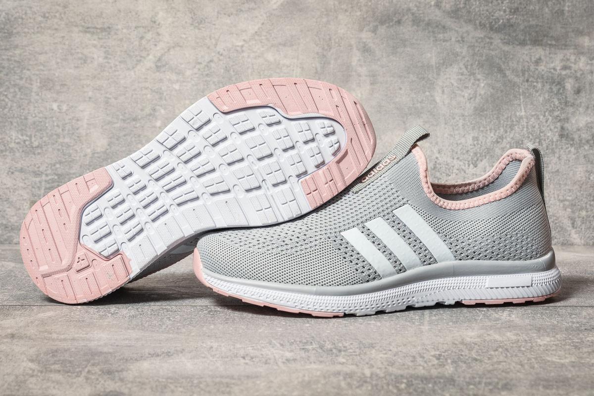 Кроссовки женские 17601, Adidas sport, серые, < 36 38 39 40 41 > р. 36-23,5см.