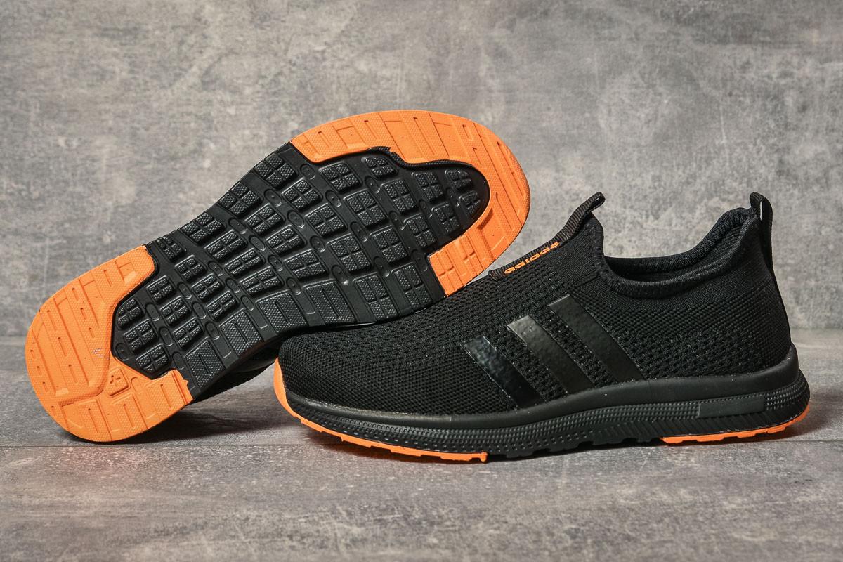 Кроссовки женские 17605, Adidas sport, черные, < 36 39 40 41 > р. 36-23,5см.