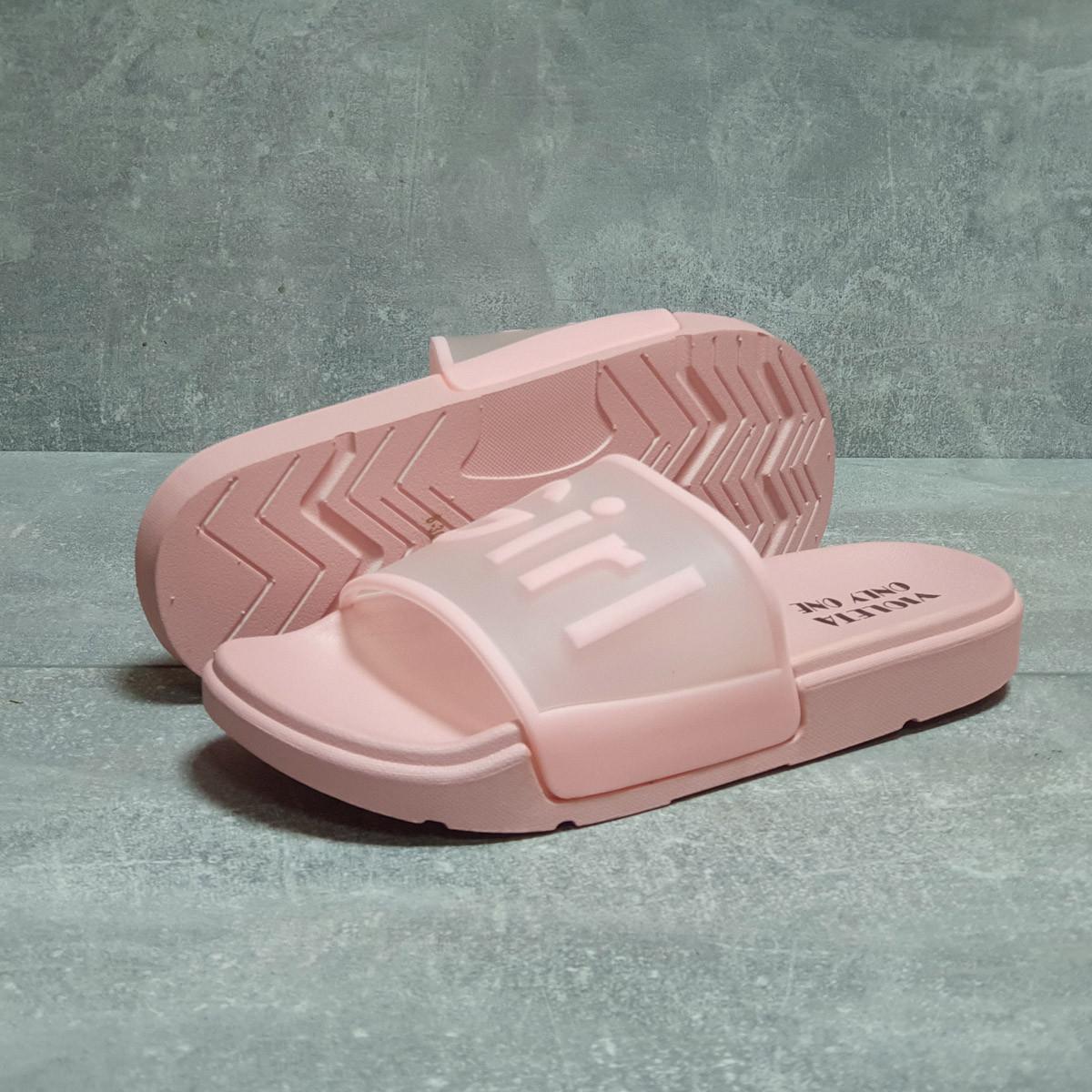 Шлепанцы женские 17466, Super Girl, светло-розовые, < 37 38 39 > р. 37-23,3см.