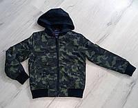 Куртка -ветровка для мальчиков камуфляжная  Nature 10-17 лет