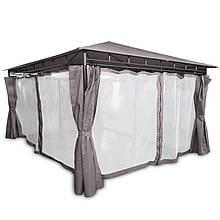Элегантный садовый павильон Laurel шатер для дома и дачи 3х4 м + москитная сетка