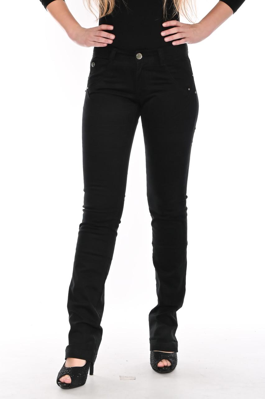 Стрейчевые брюки Оматjeans 9801-451 чёрные