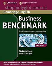 Учебник Business Benchmark 2nd Edition Pre-Intermediate/Intermediate Business Preliminary Student's Book