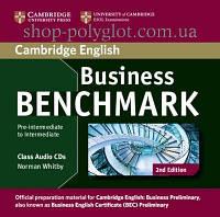 Аудио диск Business Benchmark 2nd Edition Pre-Intermediate/Intermediate Business Preliminary Class Audio CDs