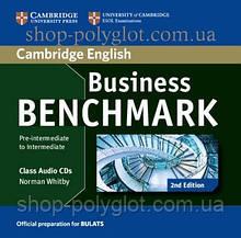 Аудио диск Business Benchmark 2nd Edition Pre-Intermediate/Intermediate BULATS Class Audio CDs