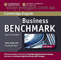 Аудио диск Business Benchmark 2nd Edition Upper-Intermediate Business Vantage Class Audio CDs