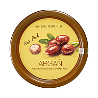 Аргановая маска для волос NATURE REPUBLIC Argan Essential Deep Care Hair Pack, 200 мл