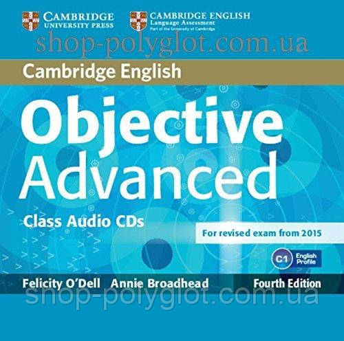 Аудио диск Objective Advanced Fourth Edition Class Audio CDs