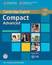 Учебник Compact Advanced Student's Book with answers and CD-ROM