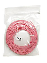 Нить PLA пластика для 3Д ручки 10м, стержень для 3D ручки розовый