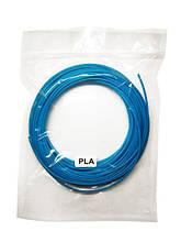 Нить PLA пластика для 3Д ручки 10м, стержень для 3D ручки голубой
