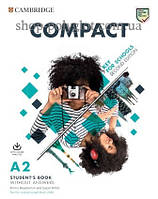 Набор книг Compact Key for Schools Second Edition Student's Pack (Student's Book without Answers with Online Practice, Workbook without Answers with