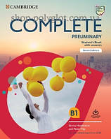 Набор книг Complete Preliminary Second Edition Self Study Pack (Student's Book with Answers and Online Practice,Workbook with Answers and Audio