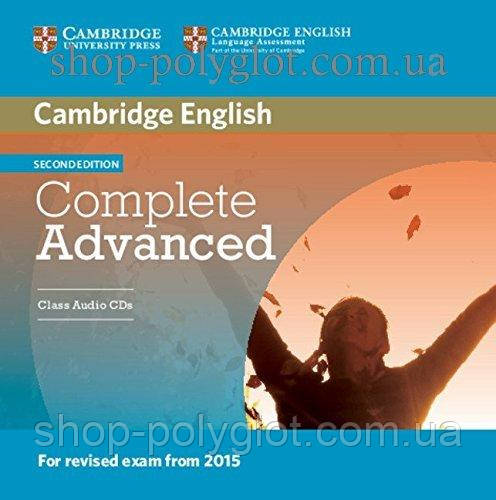 Аудио диск Complete Advanced Second Edition Class Audio CDs