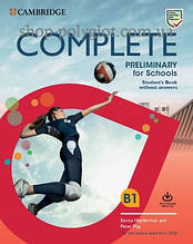 Учебник Complete Preliminary for Schools Student's Book without Answers with Online Practice