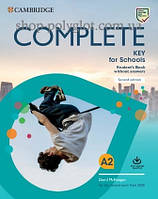 Набор книг Complete Key for Schools Second Edition Student's Pack (Student's Book without Answers with Online Practice, Workbook without Answers with