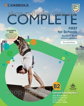 Підручник Complete First Second Edition for Schools student's Pack (student's Book without with Answers Online