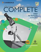 Книга для учителя Complete First for Schools Second Edition TB with Downloadable Resource Pack