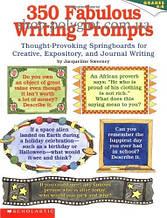 Книга 350 Fabulous Writing Prompts