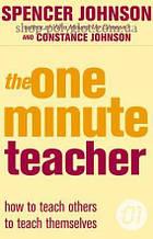 Книга The One Minute Teacher