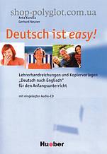 Ресурсы для учителя Deutsch ist easy! Lehrerhandreichungen und Kopiervorlagen mit eingelegter Audio-CD