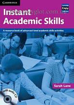 Книга с диском Instant Academic Skills with Audio CD