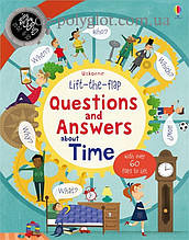Книга с окошками Lift-the-Flap Questions and Answers about Time