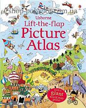 Книга с окошками Lift-the-Flap Picture Atlas