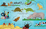 Книга с окошками Lift-the-Flap Questions and Answers about Animals, фото 3