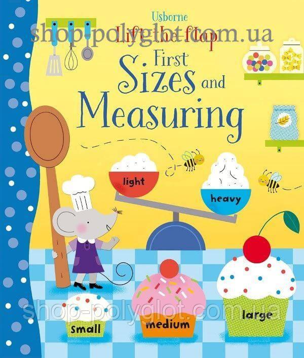 Книга с окошками Lift-the-Flap First Sizes and Measuring