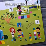 Книга с окошками Lift-the-Flap First Sizes and Measuring, фото 4