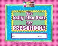 Ежедневник The Daily Plan Book for Preschool