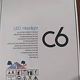 Комплект LED ламп C6 H4, фото 5