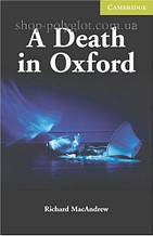 Книга A Death in Oxford with Downloadable Audio