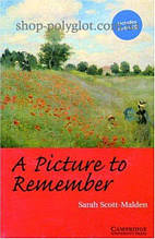 Книга A Picture to Remember with Downloadable Audio