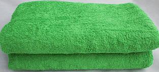 Asgabat Dokma Toplumy простыня махровая 190х220см (430г/м2) Зеленый светлый (1005)