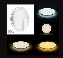 Smart світлодіодний світильник 50W D-35см з пультом управління ULM R03-M-350-50-P3, фото 3