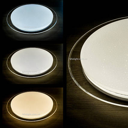 Smart світлодіодний світильник 50W D-35см з пультом управління ULM R03-M-350-50-P3, фото 2