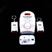 Охранная сигнализация звуковая c датчиком движения для дома дачи гаража автономная