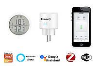 Комплект умного дома: контроль температуры и влажности в детской Tervix ZigBee с управлением увлажнителем