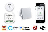Комплект умного дома: защита от грибка и плесени в ванной Tervix ZigBee регулир влажности включение вентиляции