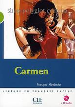 Книга с диском Carmen avec CD audio