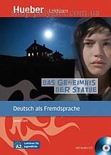 Книга с диском Das Geheimnis der Statue mit Audio-CD