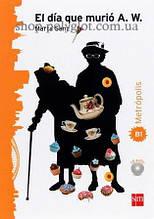 Книга с диском El día que murió con CD audio