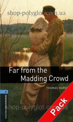 Книга с диском Far from the Madding Crowd with Audio CD