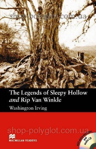 Книга с диском The Legends of Sleepy Hollow and Rip Van Winkle with Audio CD