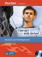 Книга с диском Timo darf nicht sterben! mit Audio-CD