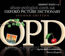 Аудио диск Oxford Picture Dictionary Second Edition Dictionary Compact Discs 1-4